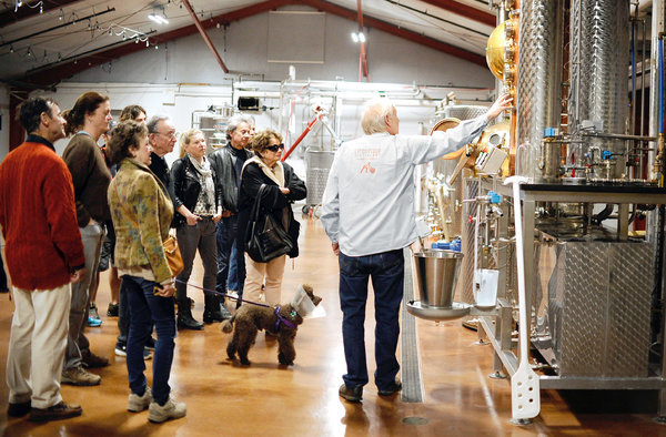 Litchfield Distillery Featured in NY Times Article About CT's Craft Distillers