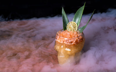Tiki's Cranium–The perfect Halloween Cocktail!