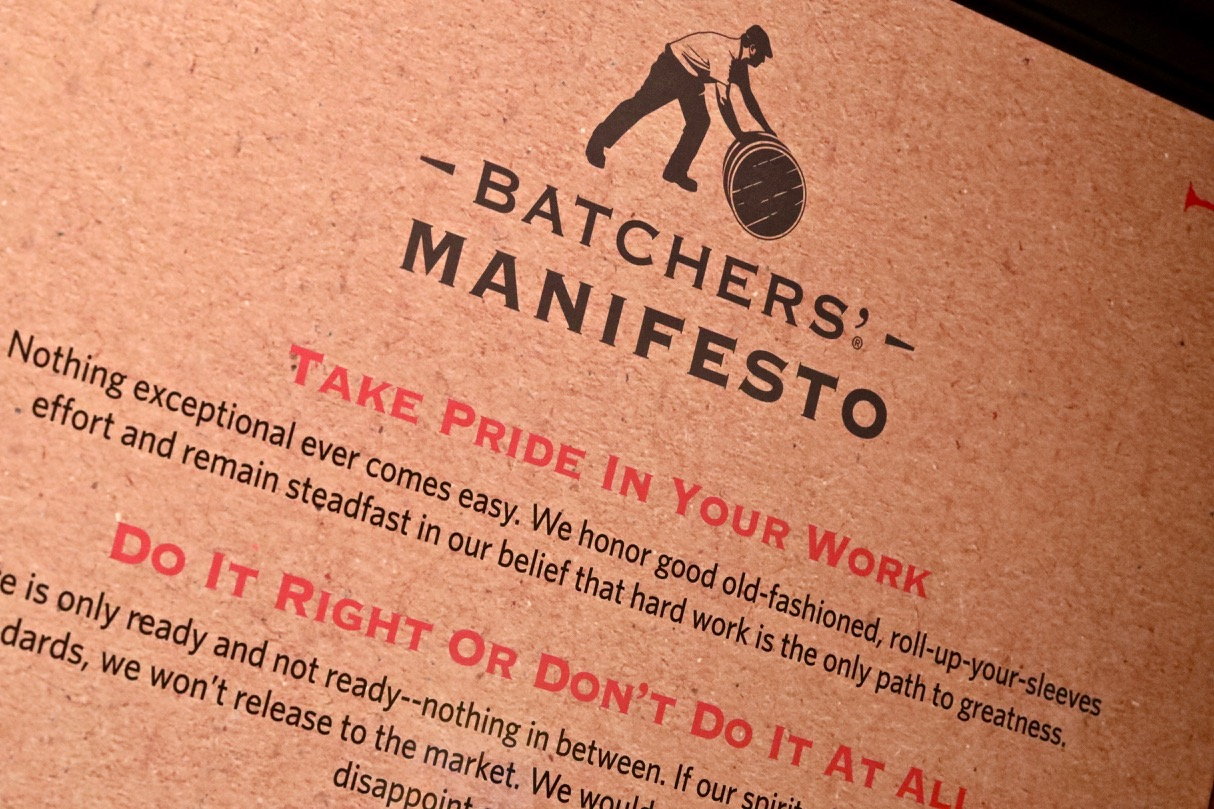 Littchfield Distillery's manifesto and values.