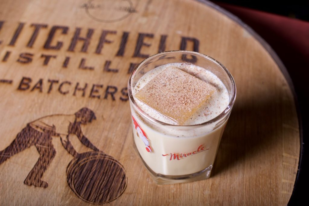 Batchers' Eggnog #cocktail