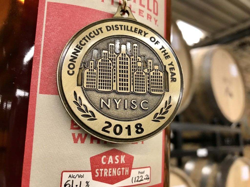 Litchfield Distillery CT Distillery of 2018