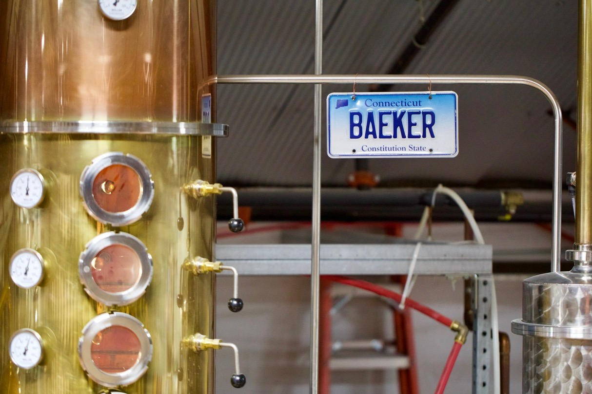 Baeker--Litchfield Distillery's nickname for their still.