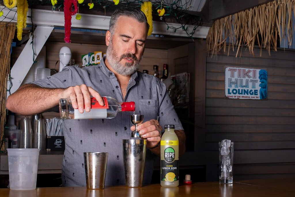JD Altobello Pours Litchfield Distillery Vodka