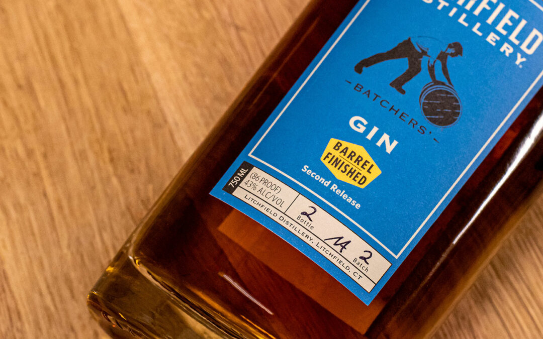 Litchfield Distillery Barrel-Finished Gin 2nd Release