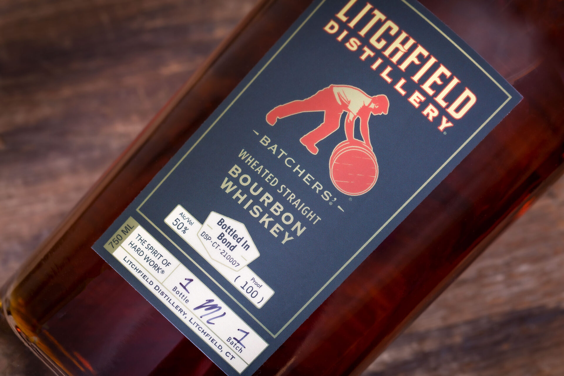 Litchfield Distillery Wheated Bourbon Whiskey