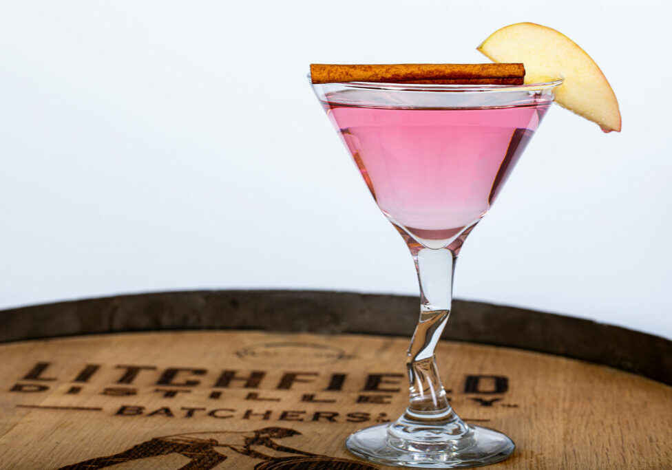 Apple Cranberry Martini