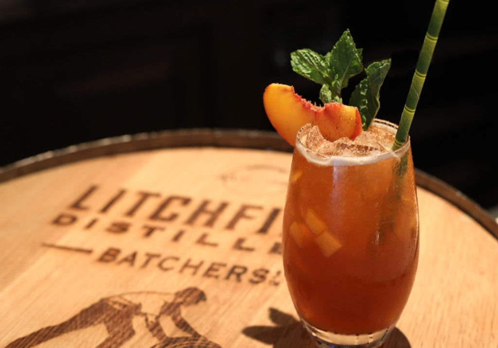 Litchfield Distillery Maple Bourbon cocktail