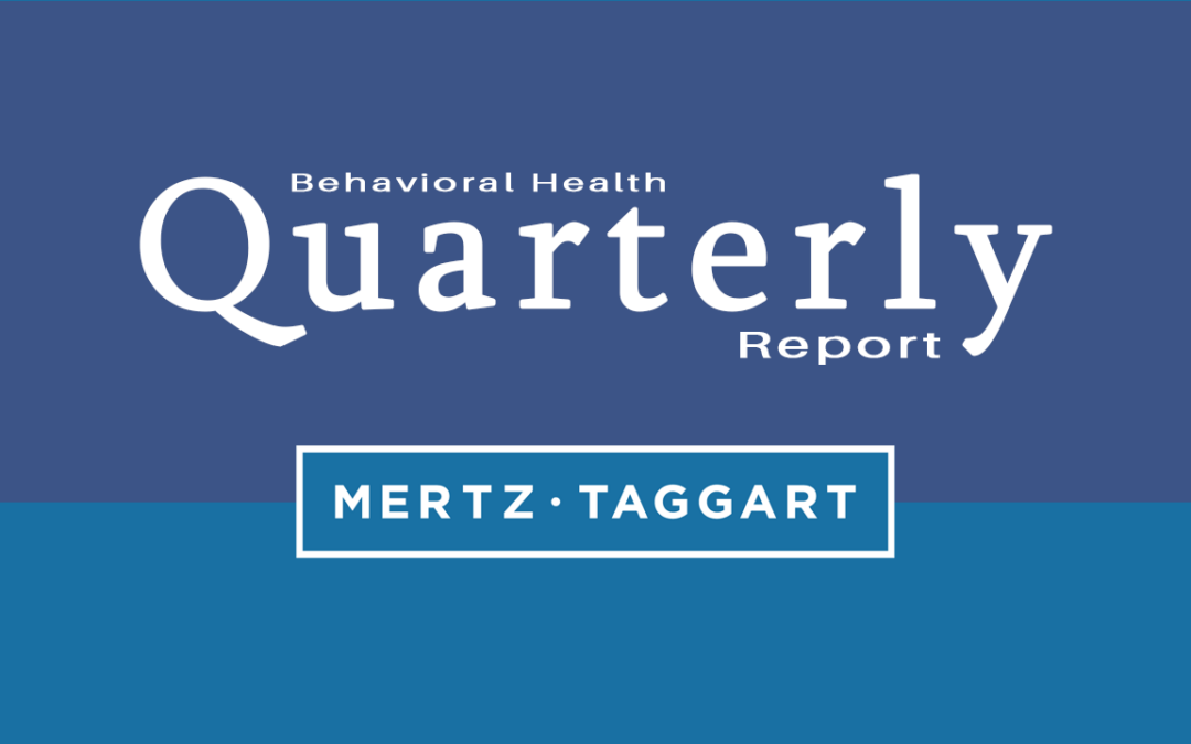 Behavioral Health M&A Report: Q1 2020