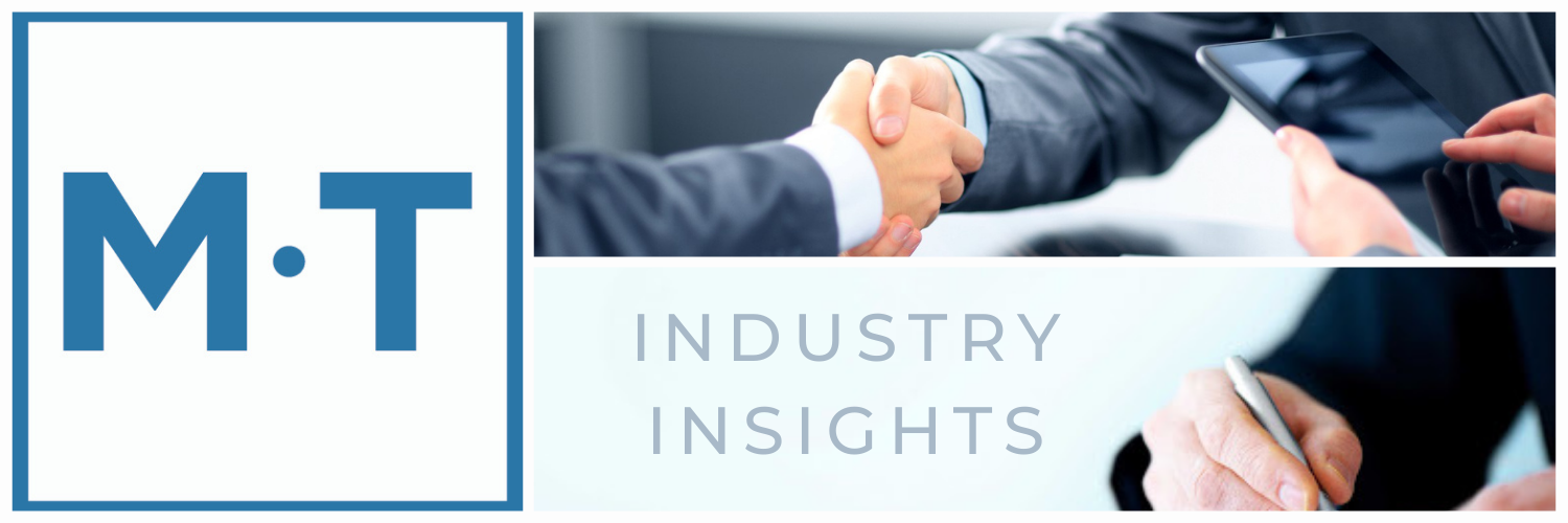 Mertz Taggart M&A Industry Insights