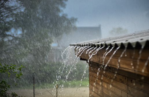 With Spring Rain Comes A Leaky Chimney