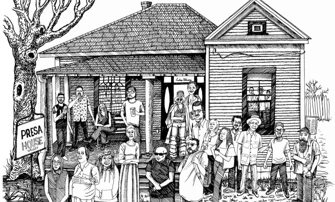 Presa House illustration by Albert Alvarez
