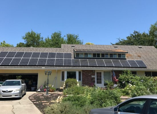 purchasing and installing solar panels
