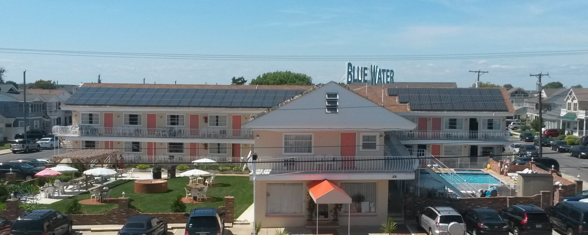 Blue Water picture Front View 2014 summer