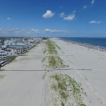 Wildwood Crest Beach Aerial View
