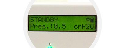Display Ventilador Pulmonar Telemática