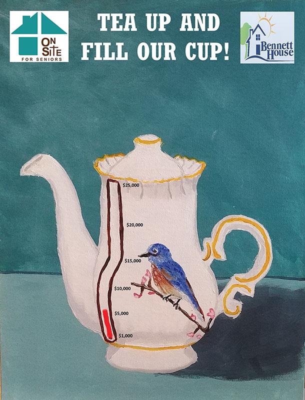 Tea Up poster art