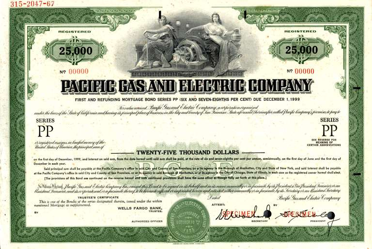 pacific-gas-and-electric-company-1000-mortgage-bond