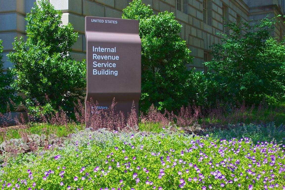 sign-for-internal-revenue-service