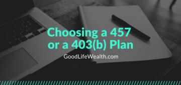 457 403b Plan