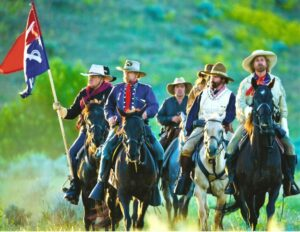 Historic Old West Horseback Rides - Custer's Command 001
