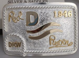 Red River Buckle