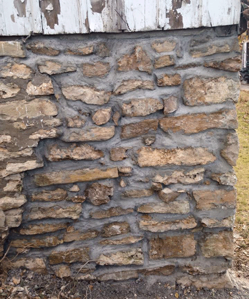 Foundation Restoration Tuckpointing