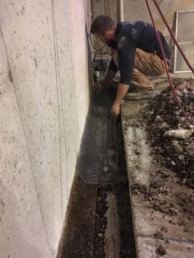 DC Solutions Interior Drainage
