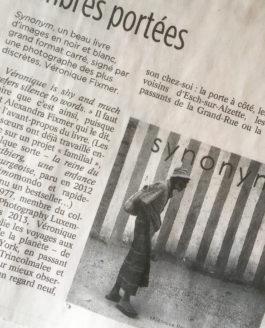 "Tageblatt supplément ""livres"" article"