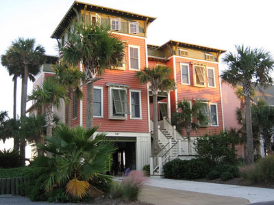 folly beach home