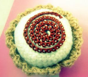 crochet cupcake amigurumi