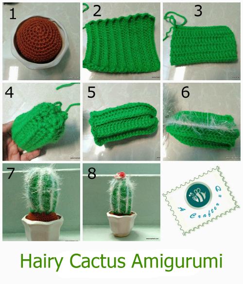 crochet cactus tutorial