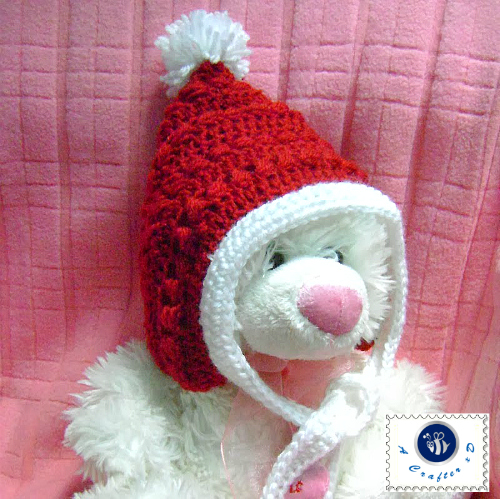 crochet Christmas hat pattern