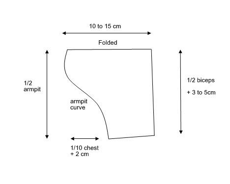 sleeves sewing pattern