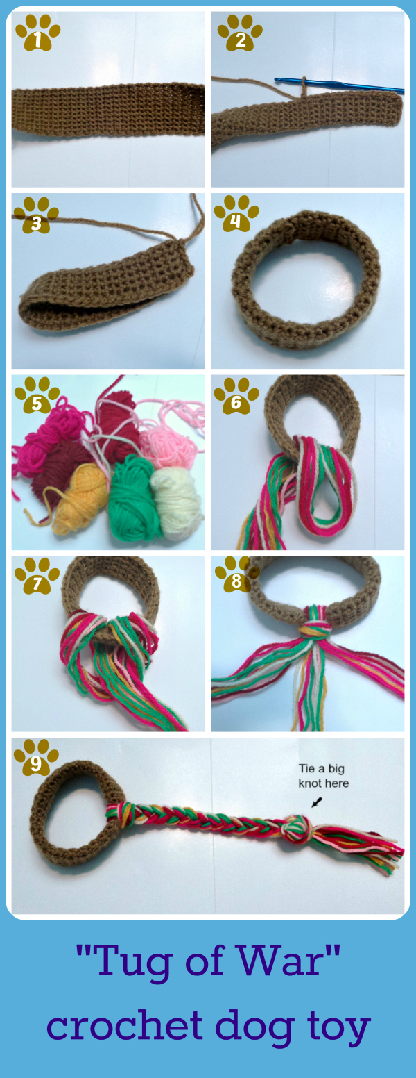 how to make a dog toy