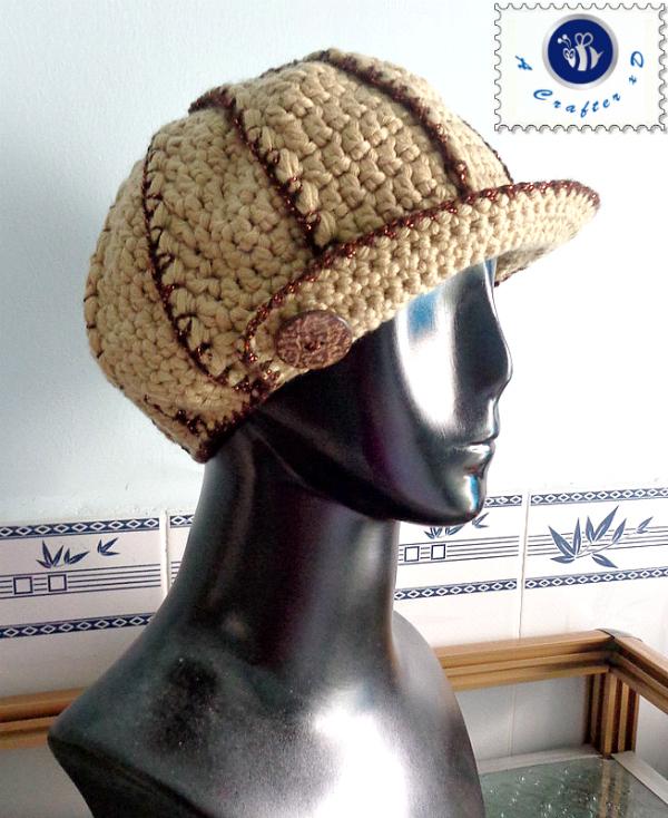 crochet newsboy hat free pattern