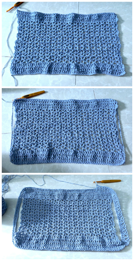 how to crochet circle vest