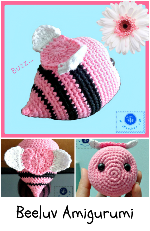 crochet bee free pattern