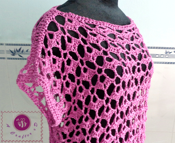 crochet lacy top free pattern