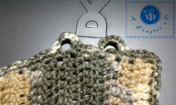 how to crochet button loops