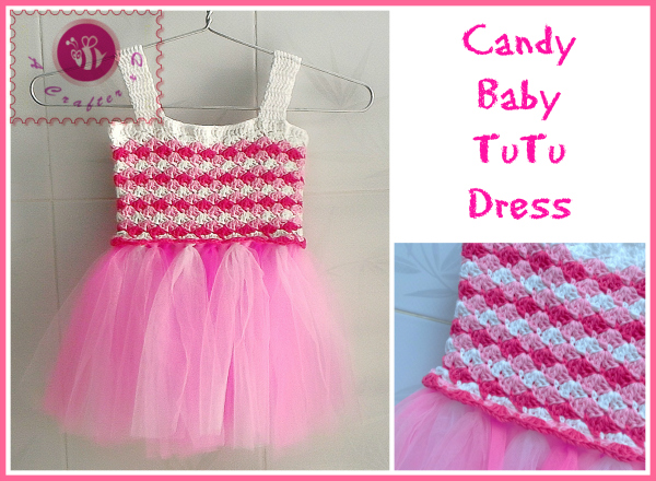crochet baby tutu dress free pattern