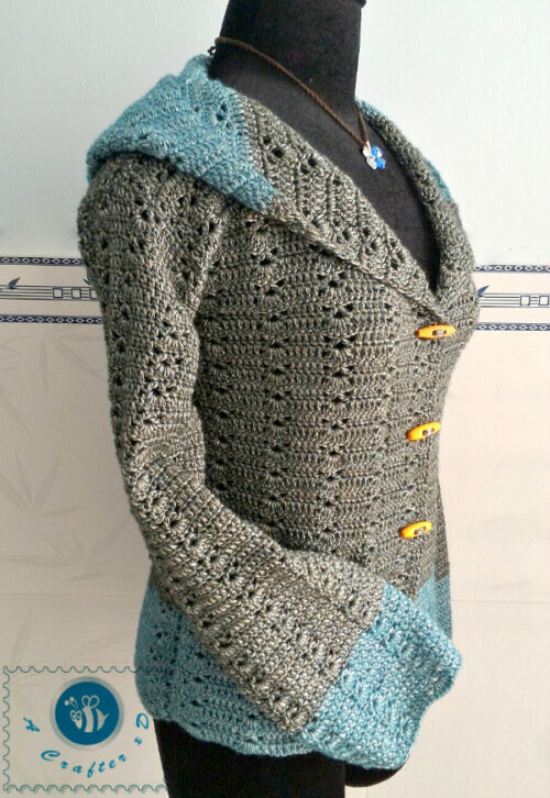 crochet womens sweater