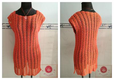 crochet summer tunic