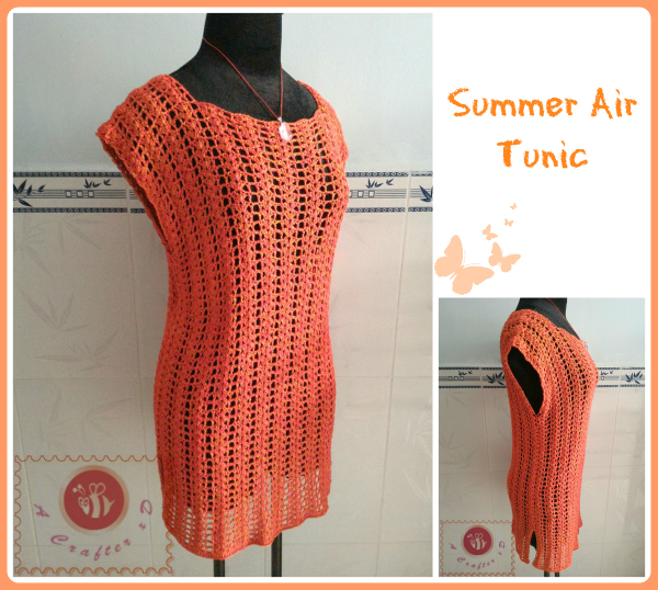 crochet lacy tunic