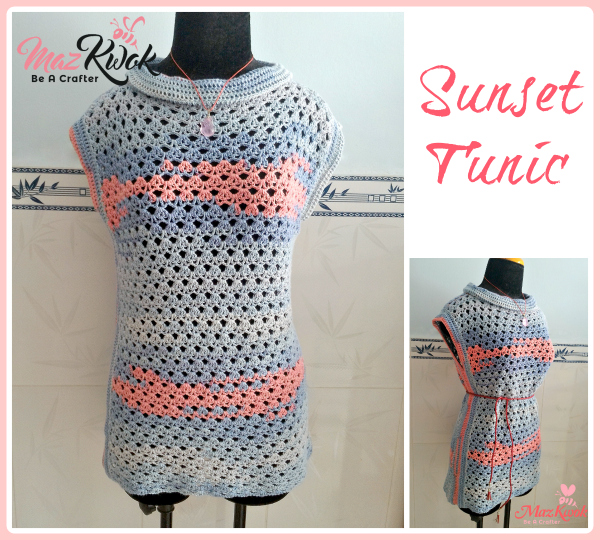 crochet tunic top