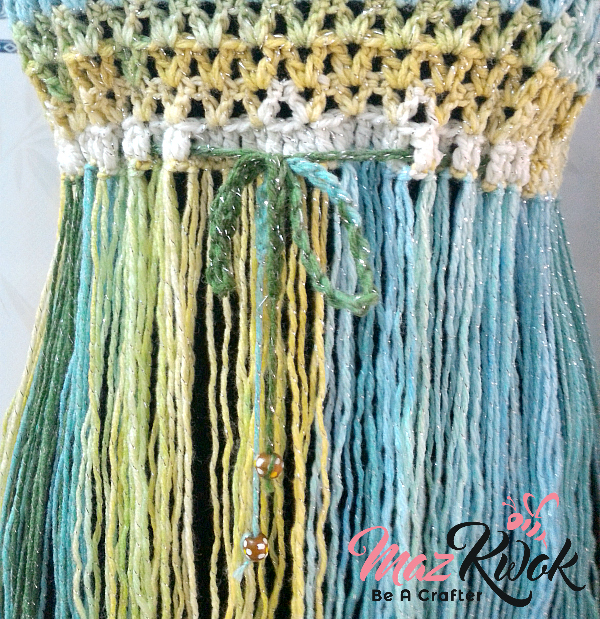 crochet fringe top