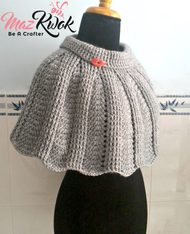 crochet poncho pattern