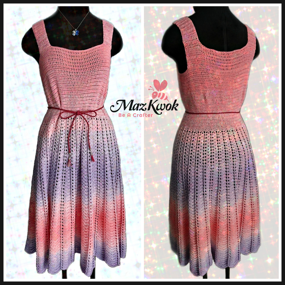 crochet sun dress