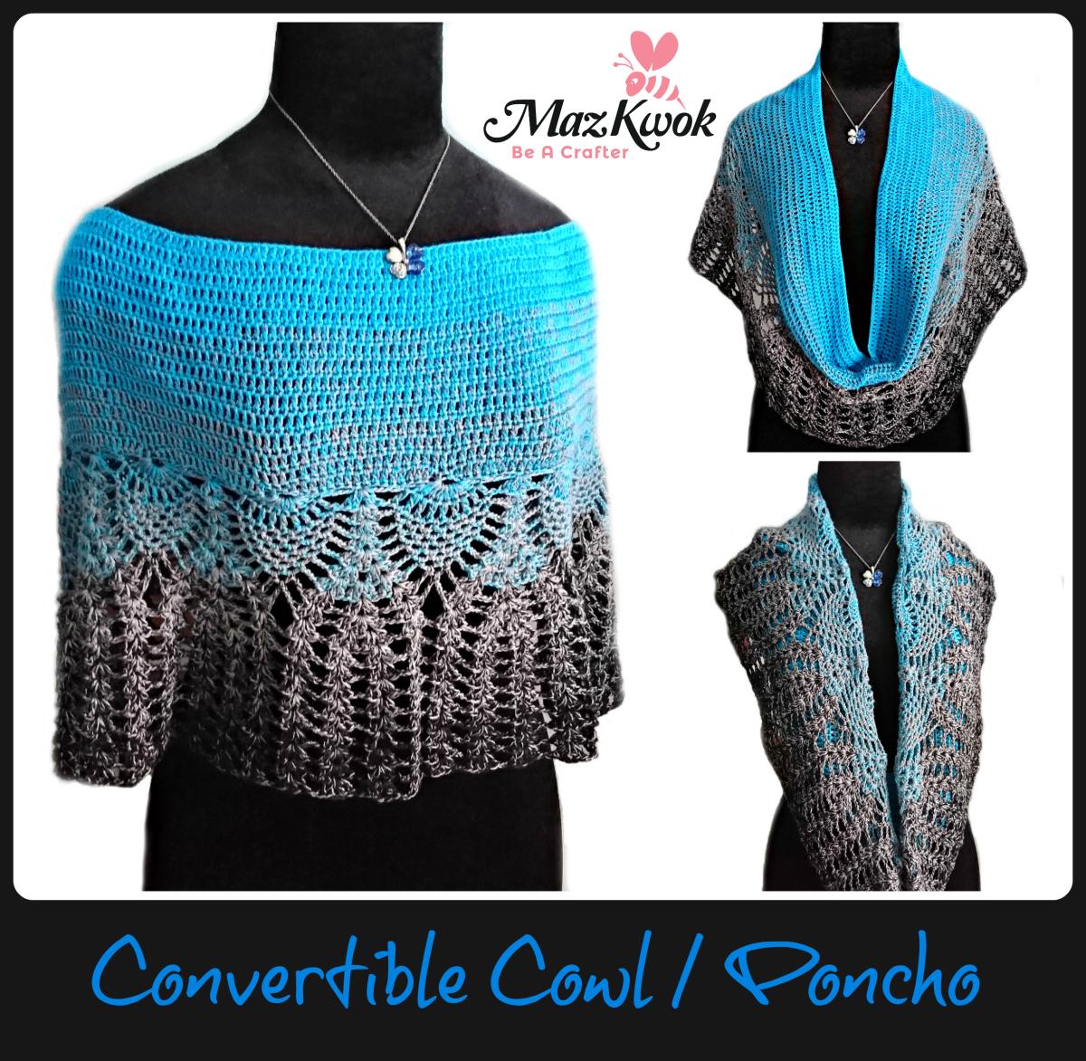 convertible cowl / poncho
