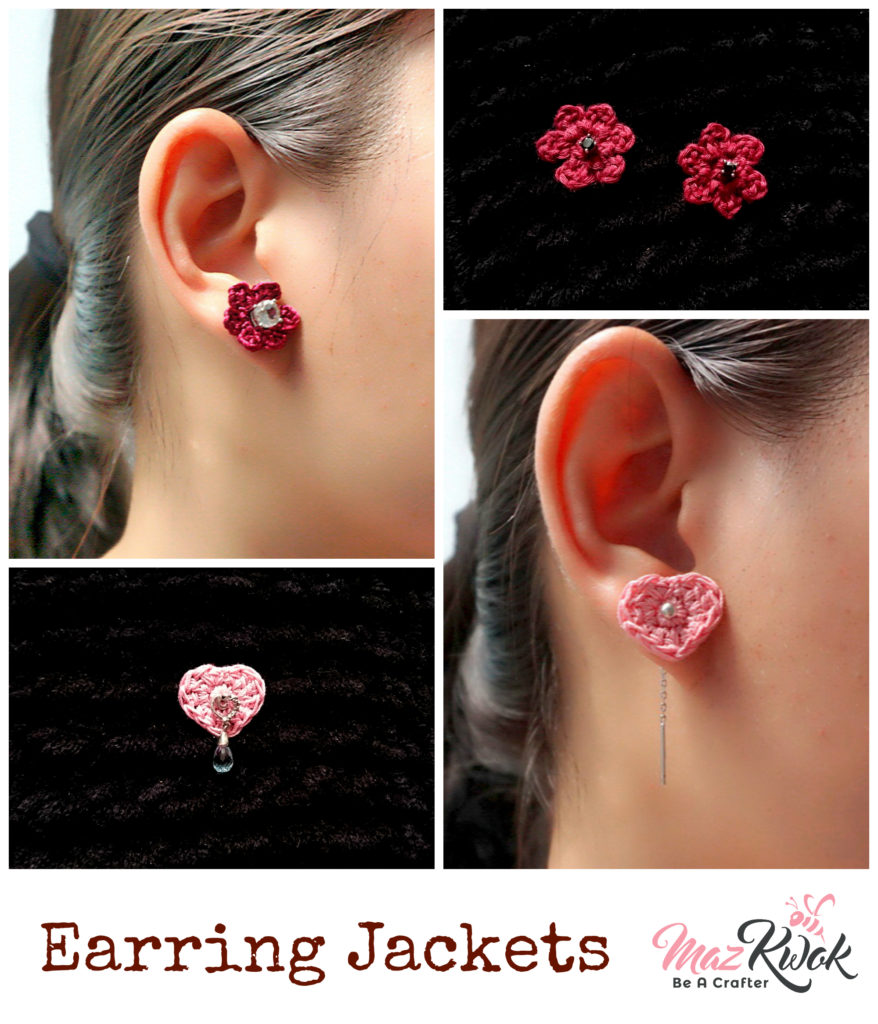 crochet earring jacket patterns