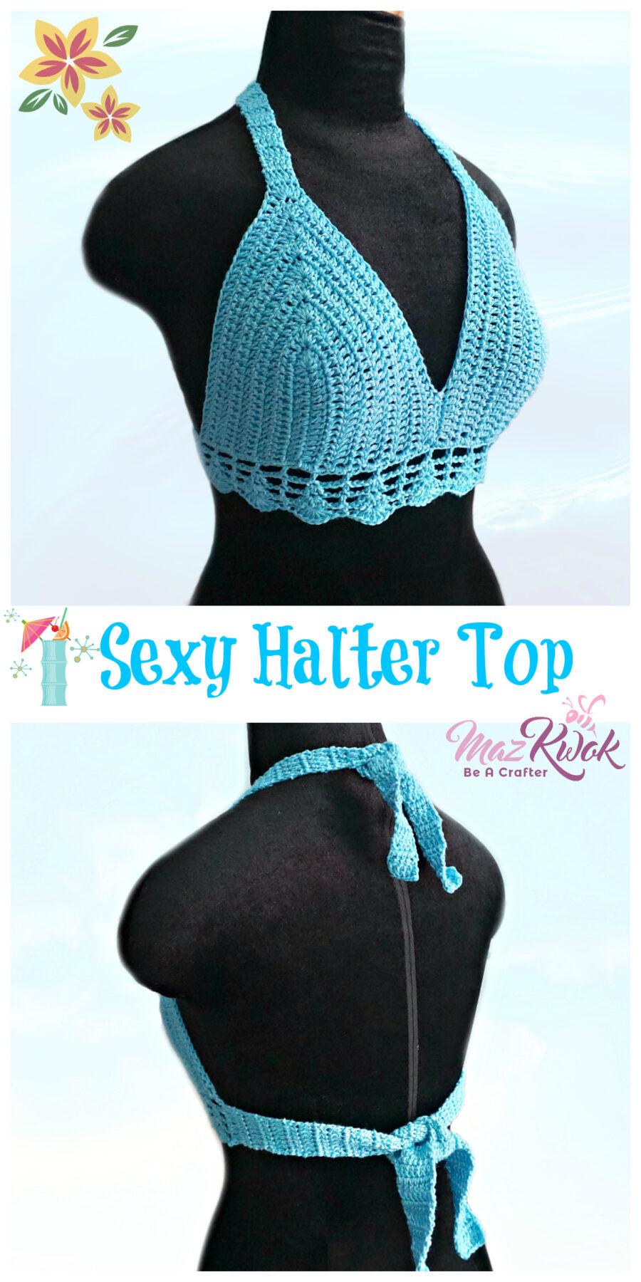 bralette crochet pattern
